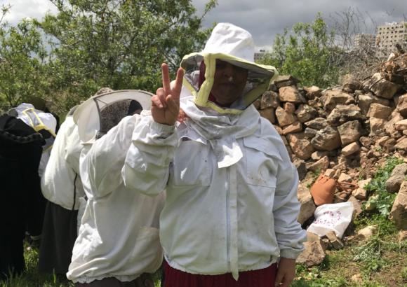 Corso di avviamento all'apicoltura – edizione di Ramallah